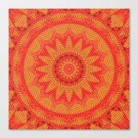 Orange K Canvas Print