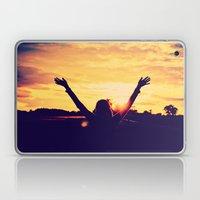 I Can't Lift My Hands Hi… Laptop & iPad Skin