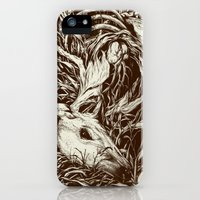 iPhone 5s & iPhone 5 Cases featuring doe-eyed by Teagan White