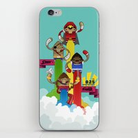 Street Fighter 25th Anni… iPhone & iPod Skin