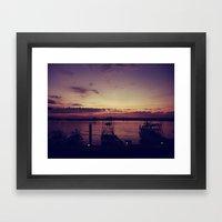 The Marina Framed Art Print