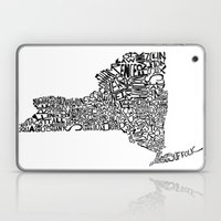 Typographic New York Laptop & iPad Skin