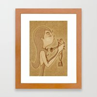 Beso3 Framed Art Print