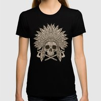 The Dead Chief Womens Fitted Tee Black SMALL