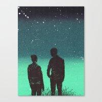 Awestruck Night Canvas Print