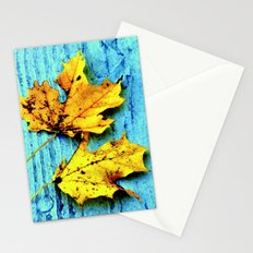 Fallen Leaves Stationery Cards