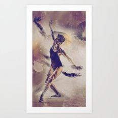 Shadow Dance Art Print