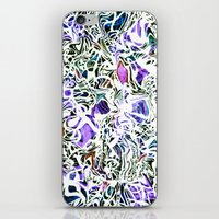 Purp Lives (OH. Oakland) iPhone & iPod Skin