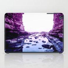 Purple Blue Lagoon iPad Case