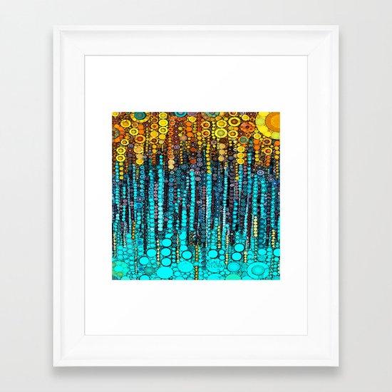 :: Party On :: Framed Art Print