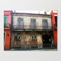 NOLA colors Canvas Print