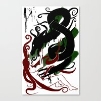 The Better Demons Of Our… Canvas Print