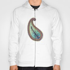 October Paisley Hoody