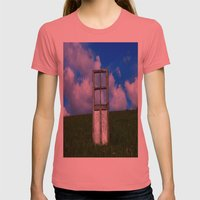 The Door Womens Fitted Tee Pomegranate SMALL