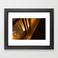 2 O'clock Framed Art Print