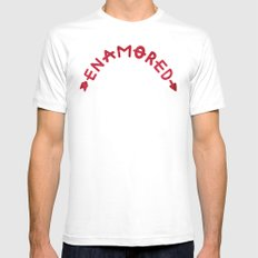 Enamored Mens Fitted Tee White SMALL