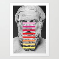 Art Print featuring Sculpture With A Spectrum 2 by Chad Wys