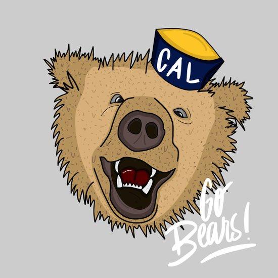 Go Bears! Art Print