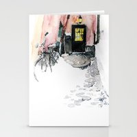Winter street Stationery Cards