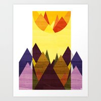 Morning, Mountain Art Print