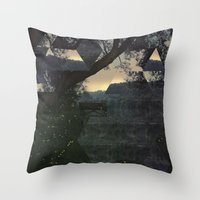 Between Dreams and Fears Throw Pillow