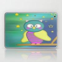 Good Night Little Owl Laptop & iPad Skin