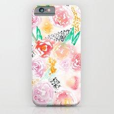 Abstract Watercolor III iPhone 6 Slim Case