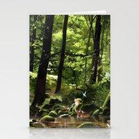 Link (Legend Of Zelda) Stationery Cards