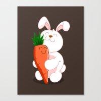 Bunny Luv! Canvas Print
