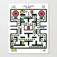 NeW PaCmAN Canvas Print