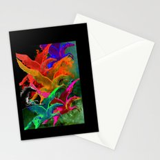 Galoppieren in der Farben Stationery Cards