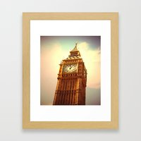 Big Ben I Framed Art Print