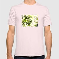 Bamboo for relaxation Mens Fitted Tee Light Pink SMALL
