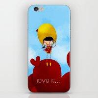 Love is... iPhone & iPod Skin