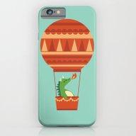 Dragon On Hot Air Balloo… iPhone 6 Slim Case