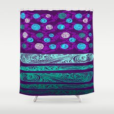 NEW DOTS Shower Curtain