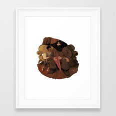 HBDH! Framed Art Print