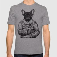 Astro Frog Mens Fitted Tee Athletic Grey SMALL