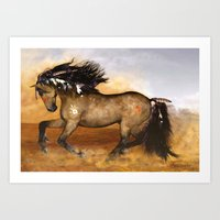 HORSE - Cherokee Art Print