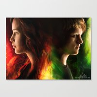 The Tributes Canvas Print