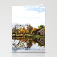 Fall Reflection Stationery Cards