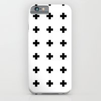 iPhone & iPod Case featuring Graphic_Cross by Anna Rosa