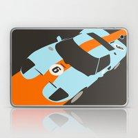 Orange Notch - Ford GT40… Laptop & iPad Skin