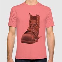 Road Mens Fitted Tee Pomegranate SMALL