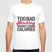 Too Bad.. Mens Fitted Tee White SMALL