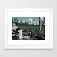 Ballad Of The Wilderness Child Framed Art Print