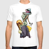 All Hallows March Mens Fitted Tee White SMALL