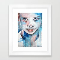 When The Rain Washes You… Framed Art Print