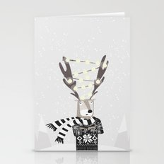 Christmas Bright Reindee… Stationery Cards