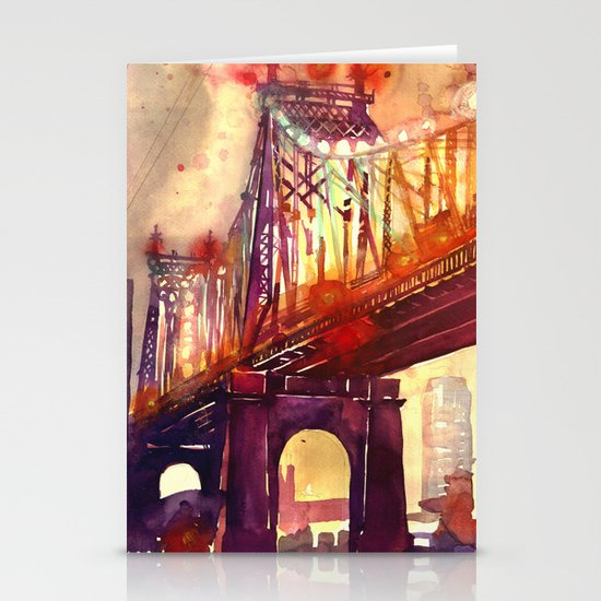 Queensboro Bridge Stationery Card